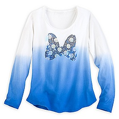 Minnie Mouse Bow Long Sleeve Tee for Women - Disney Boutique