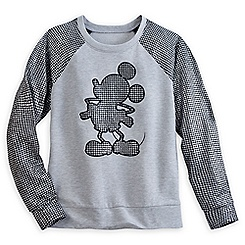 Mickey Mouse Houndstooth Pullover for Women