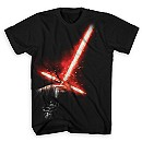 Kylo Ren Lightsaber Tee for Adults - Star Wars: The Force Awakens