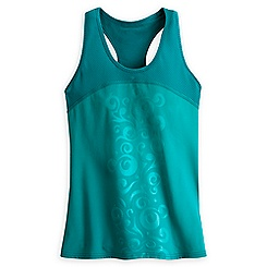Mickey Mouse Swirl Icon Performance Tank Top for Women