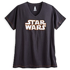 Star Wars Logo Fashion Tee for Women