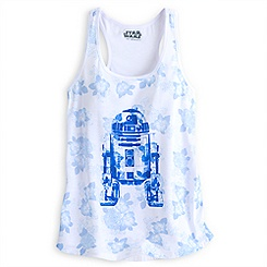 R2-D2 Floral Tank Tee for Women by Her Universe - Star Wars