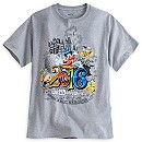 Sorcerer Mickey Mouse and Friends Heathered Tee for Men - Walt Disney World 2016