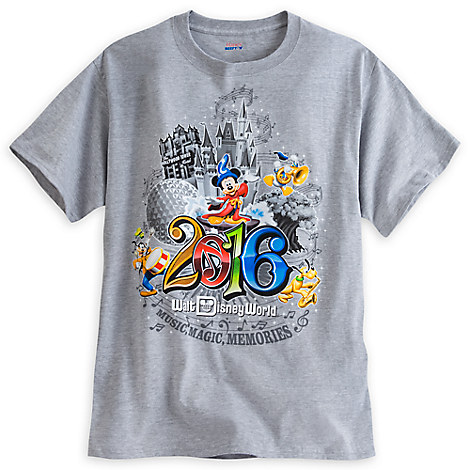 Sorcerer Mickey Mouse and Friends Heathered Tee for Men - Walt Disney ...