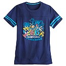 Sorcerer Mickey Mouse and Friends Athletic Tee for Women - Walt Disney World
