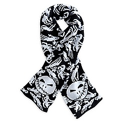 Nightmare Before Christmas Knitted Scarf