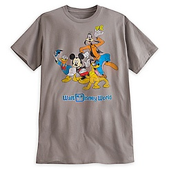 Mickey Mouse and Friends Tee for Adults - Walt Disney World