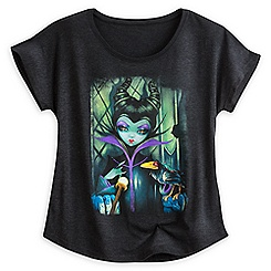 Maleficent Enthroned Tee for Women