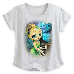 Tinker Bell at Skull Rock Tee for Women