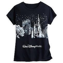 Walt Disney World Glitter Icon Tee for Women