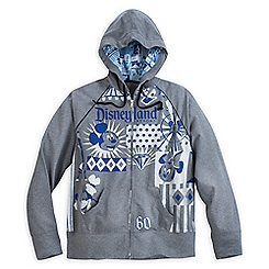 Disneyland Diamond Celebration Zip Hoodie for Women