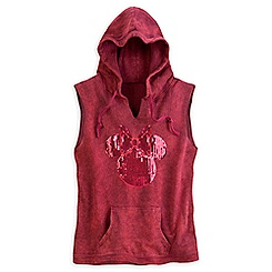 Minnie Mouse Hooded Vest for Women