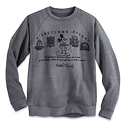 Mickey Mouse Walt Disney Quote Sweatshirt for Men - Disneyland