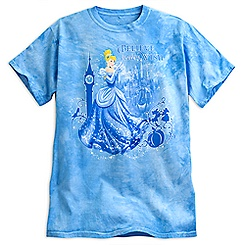 Cinderella Tie-Dye Tee for Adults