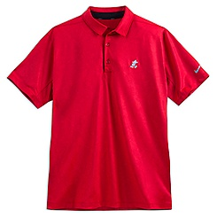 Mickey Mouse Polo Shirt for Men by NikeGolf - Red