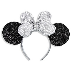 Minnie Mouse Ears Crystal Headband - Disneyland Diamond Celebration