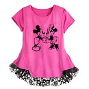 Mickey and Minnie Mouse Top for Women - Disney Boutique
