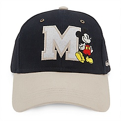 Mickey Mouse Letterman Baseball Cap for Adults - Walt Disney World