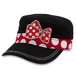 Minnie Mouse Cadet Cap for Adults