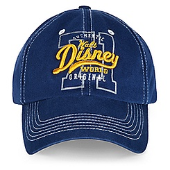 Walt Disney World Collegiate Baseball Cap for Adults - Navy