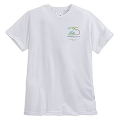 Disney Vacation Club Tee for Adults - 25th Anniversary