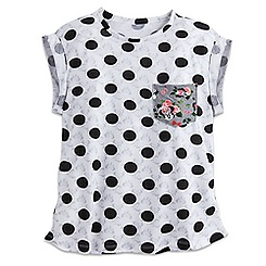 Minnie Mouse Fashion Tee with Pocket for Women - Disney Boutique