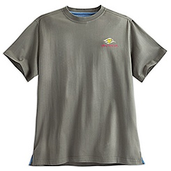 Grumpy Disney Cruise Line Tropical Tee for Men - Olive