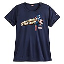 Captain America runDisney Performance Tee for Women