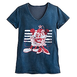 Mickey and Minnie Mouse Fashion Tee for Women - Disney Boutique