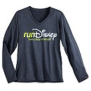 runDisney Long Sleeve Performance Tee for Women