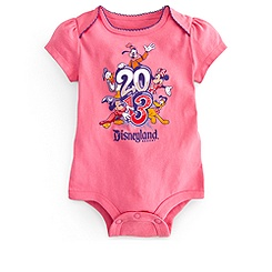 Sorcerer Mickey Mouse Bodysuit for Baby Girls - Disneyland 2013