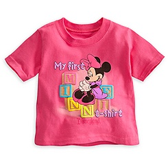 Minnie Mouse ''My First'' Tee for Baby - Disneyland