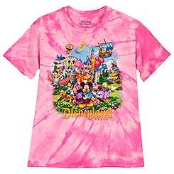 Disneyland Resort Tee for Girls - Tie-Dye Storybook