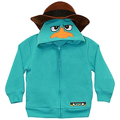 Phineas and Ferb Zip Fleece Agent P Costume Hoodie for Boys