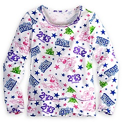 Sorcerer Mickey Mouse Tee for Girls - Disneyland 2013