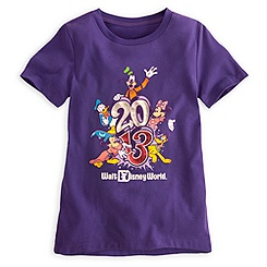 Sorcerer Mickey Mouse Tee for Girls - Walt Disney World 2013