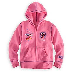 Sorcerer Mickey Mouse Hoodie for Girls - Disneyland 2013