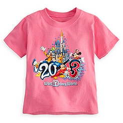Sorcerer Mickey Mouse Tee for Toddler Girls - Walt Disney World 2013