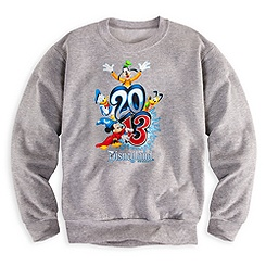 Sorcerer Mickey Mouse Sweatshirt for Boys - Disneyland 2013