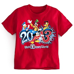 Sorcerer Mickey Mouse Tee for Toddler Boys - Walt Disney World 2013