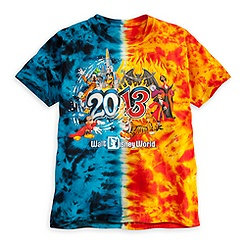 Walt Disney World Tie Dye Tee for Boys - 2013