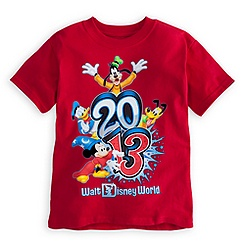 Sorcerer Mickey Mouse Tee for Boys - Walt Disney World 2013