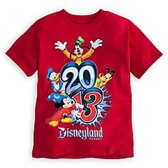 Sorcerer Mickey Mouse Tee for Boys - Disneyland 2013