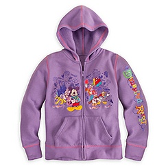 Mickey Mouse and Friends Hoodie for Girls - Disneyland