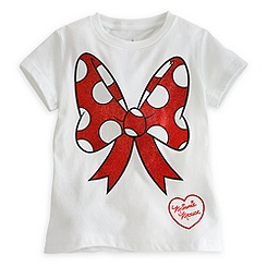 Minnie Mouse Bow Tee for Girls