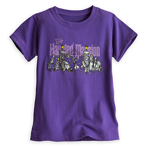 The Haunted Mansion Character Tee for Girls