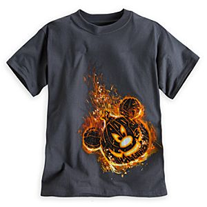 Mickey Mouse Jack O'Lantern Tee for Boys
