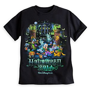 Mickey Mouse and Friends Haunted Mansion Tee for Kids - Walt Disney World - Halloween 2014