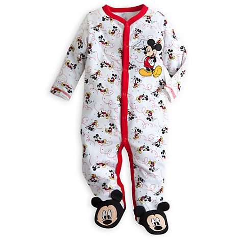 Mickey Mouse Jordans Mickey Mouse Coverall For Baby