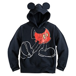 Mickey Mouse Hoodie with Ears for Boys
